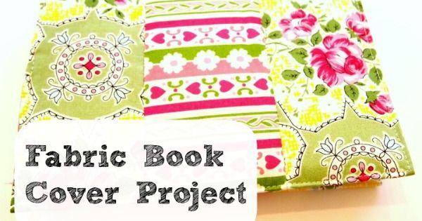 Fabric Book Cover With Zipper Tutorial : Mother s day gift idea fabric book cover sewing tutorial