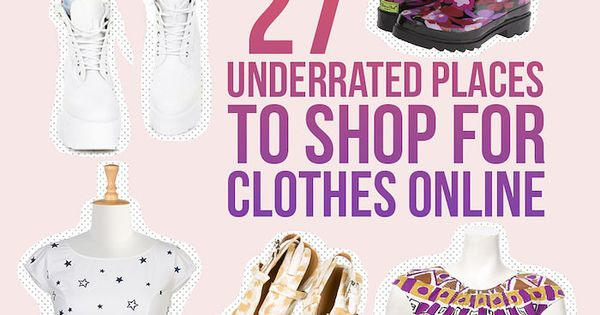 Underrated clothing stores