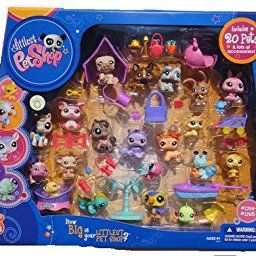 Amazon Com Littlest Pet Shop Set Of 20 Figures 1764 1783 Toys Games Pet Shop Littlest Pet Shop Pets