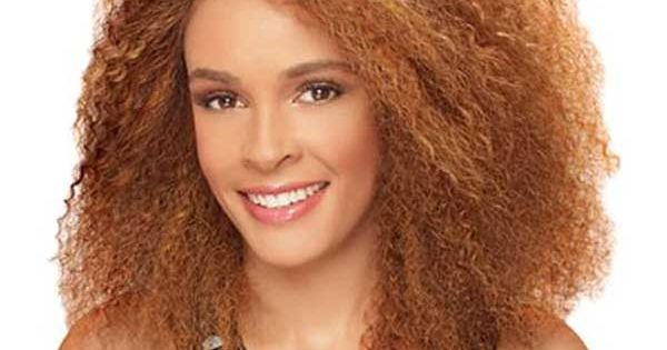 Copper curly hairstyle for African American women  Big Hair  Pinterest  Copper, Colors and