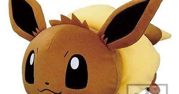 Banpresto Pokemon Xy Amp Z Effortlessly N Friends Huge Stuffed Toy Eevee 26 P Eevee Pokemon Banpresto