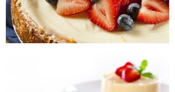 Cheesecake sin hornear receta mermelada de fresa - Postres para impresionar ...