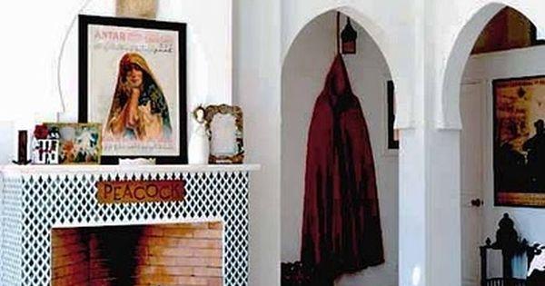 Pin van gera hoeke op middle east interiors pinterest moderne marokkaans huiskamer en voor - Moderne keuken in het oude huis ...