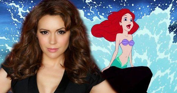 ariel milano alyssa reveals she was �little mermaid