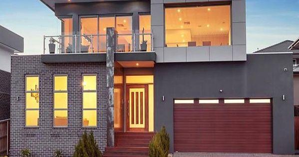 Modern Minimalist Architecture Duplex Fourplex Plans