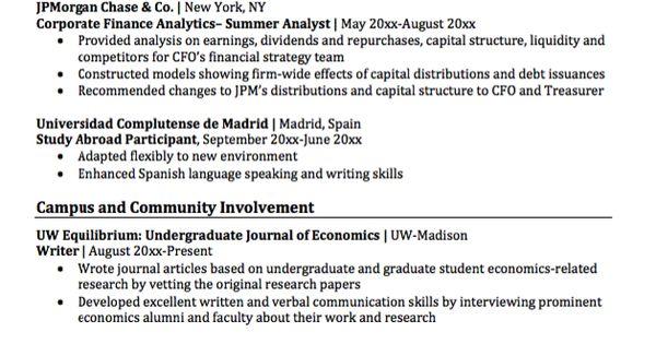 double major economics resume sample    resumesdesign com  double