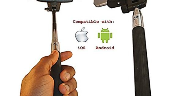 selfie stick new 2015 by konneh a self portrait handheld extendable wireless monopod with. Black Bedroom Furniture Sets. Home Design Ideas