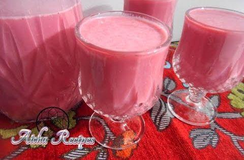 63 طريقة تحضير عصير الباربا الشمندر و الفراولة لذيذ جدا عصالر رمضان Youtube Food Alcoholic Drinks Alcohol