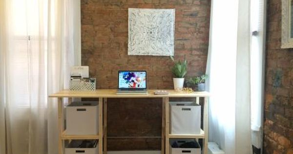 Standing Parson Tower Desk Diy Desk Plans Desk Plans Diy Desk