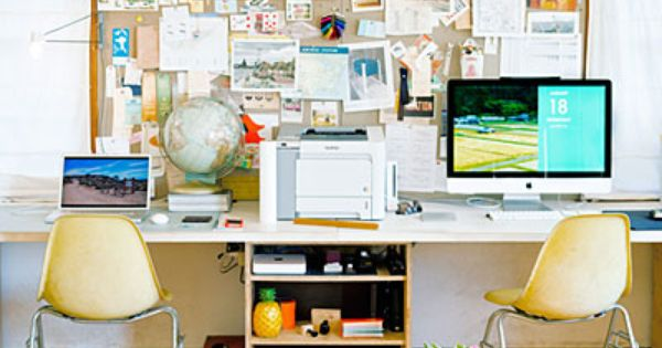 Versatile ideas for a small live work space office setup - Small office setup ideas ...