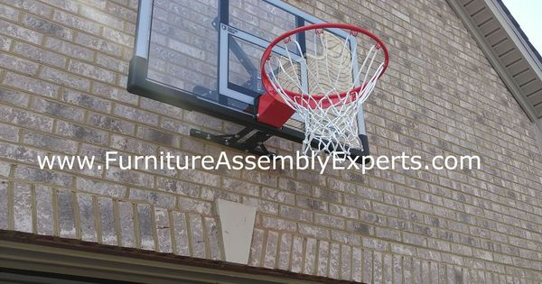 Basketball Hoop Wall Installation By Professionals Completed For A Customer In Rockville Maryland Serving Rockville Maryland Wall Installation Basketball Hoop
