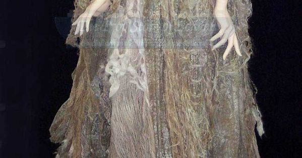 The Western Woods Crone: The costume worn by Miranda Richardson as the