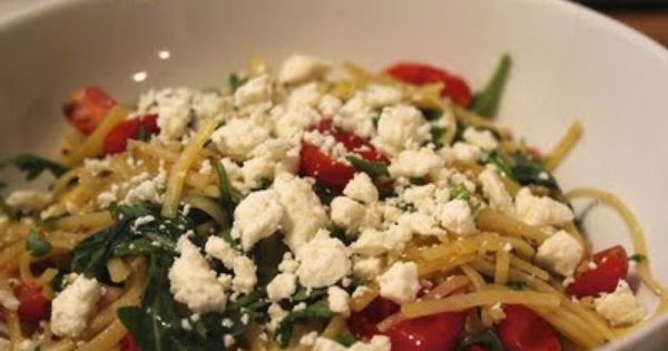 linguine with tapenade, tomatoes and arugula | Recipes | Pinterest ...