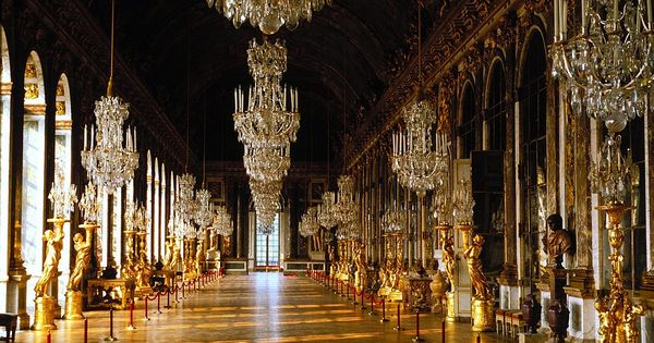 Gallery of glass chateau de versailles crystal stones pinterest versailles - Cabinet mansart versailles ...