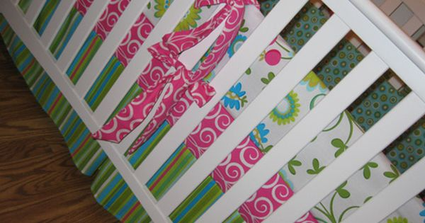 Easy Peasy Custom Crib Bedding, so excited about this pin! Baby bedding