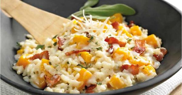 Butternut Squash Risotto with Bacon and Sage | Cooking Ninja Style ...