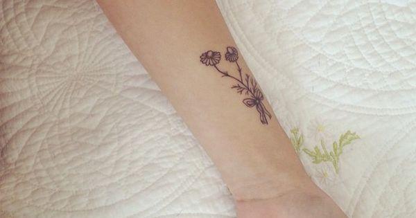 Cutiepiemarzia Foot Tattoo flower tattoo ~ marzia...