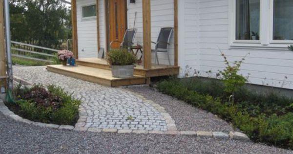 Smågatsten, storgatsten, gårdsgrus Design och anläggning Form ...