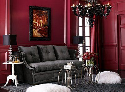 Modern Style Gothic Decorating Ideas Jpg 400 294 Gothic Living Rooms Victorian Living Room Gothic Home Decor