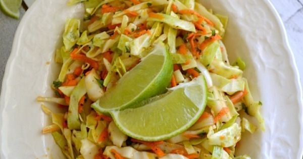 Spicy Cumin Lime Coleslaw | Recipe | Coleslaw, Spicy Coleslaw and ...