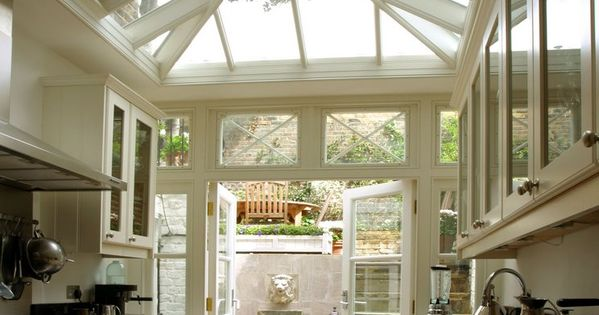 conservatory kitchen | interior design + decorating ideas