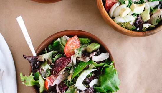 Blood orange, Fennel and Avocado salads on Pinterest