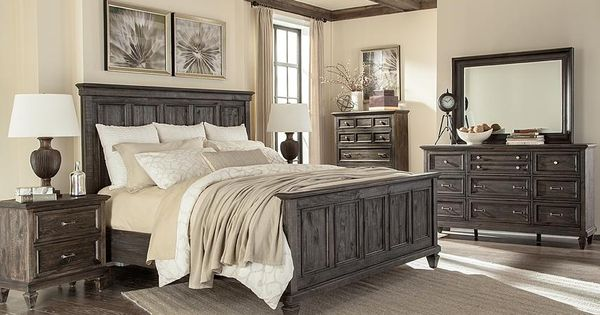 Breathe In Mountain Air As You Nestle In The Calistoga Queen Panel Bed Harvested From Timeless