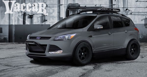 Ford Mustang F 150 And Escape Variants In Sema Ford Escape Ford 2016 Ford Escape