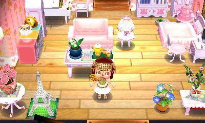 Lovely In White Regal In Pink Kiddie In Pastel Animal Crossing