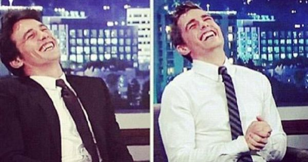 Image via We Heart It https://weheartit.com/entry/87970096 brothers Hot jamesfranco laughing perfect davefranco