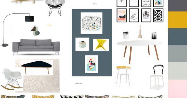 esprit scandinave par deco83 a d couvrir sur kozikaza id es d co salon et salle manger. Black Bedroom Furniture Sets. Home Design Ideas