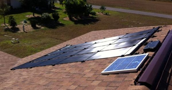 Solar Water Heating In Lehigh Acres Fl Http Fafcosolar Com Solar Solar Power Cost Solar Power House