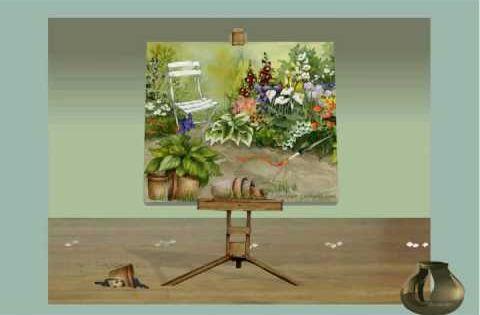 Jacquie Lawson Playful Portrait Lawson E Cards Fantasy Art