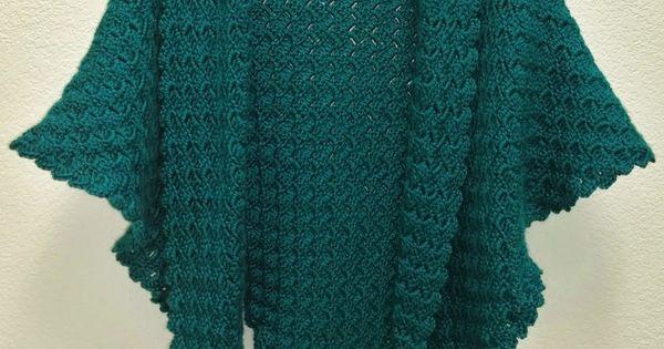 Corner To Corner Triangle Shawl Free Crochet Video