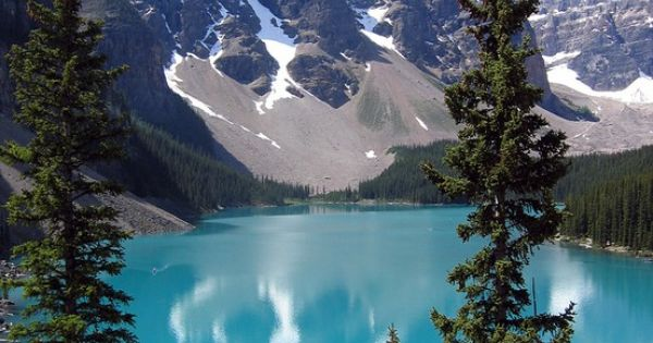 Moraine Lake, Canada....I can check that off the bucket list ;) Even