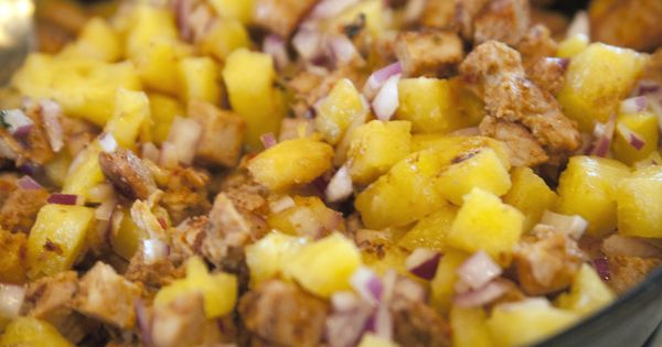 salsa pineapple salsa slow cooker pineapple pork tacos al pastor ...