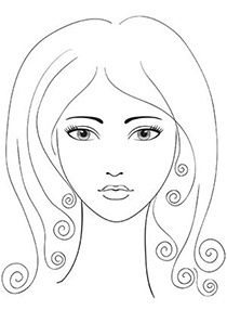 Relive Your Childhood Free Printable Coloring Pages For Adults Coloring Pages Eyebrow Shaping Diamond Face Shape