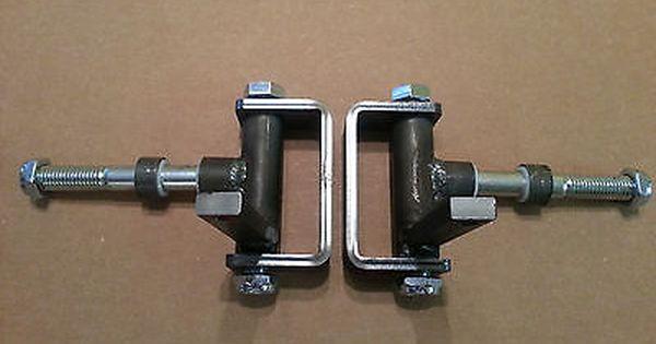 "Complete 5/8"" axle Steering Spindle Bracket set w/ nylon ..."