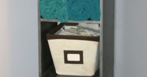 Bathroom tower grays turquoise white brown beautiful for Turquoise and brown bathroom ideas