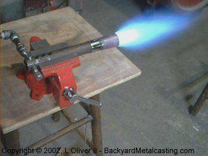 A Simple Homemade Propane Burner Metal Working Tools Propane Forge Metal Working