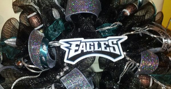 Philadelphia Eagles Wreath Hubby Would Love This One Too