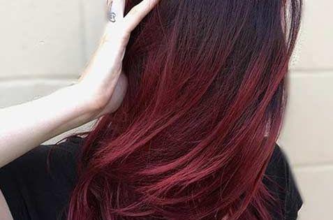 21 Amazing Dark Red Hair Color Ideas Dark Roots Bright