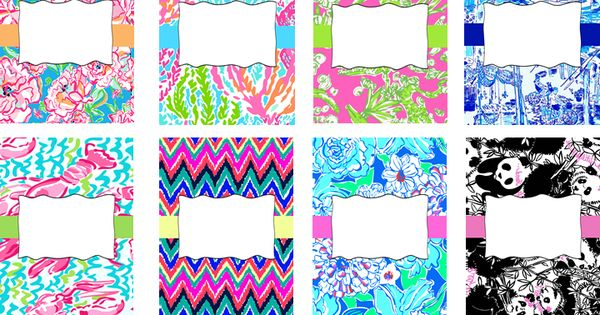 @knt01 Editable Cute, Sassy Bright Binder Covers by Laugh. Eat. Learn.