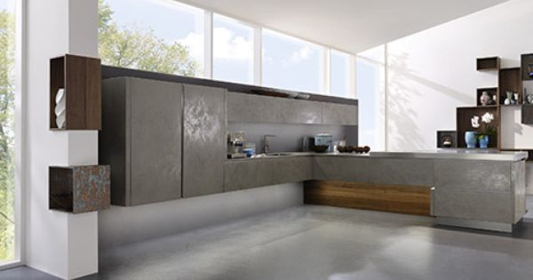 Alno Cera 2 In Grigio Alno Kitchens Pinterest