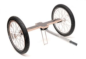 Beiwagen fahrrad bauen mit selber Fahrrad Mit