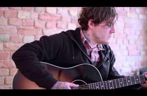 Brian Fallon Of The Gaslight Anthem Handwritten Acoustic Gaslight Anthem Brian Fallon Brian S Song