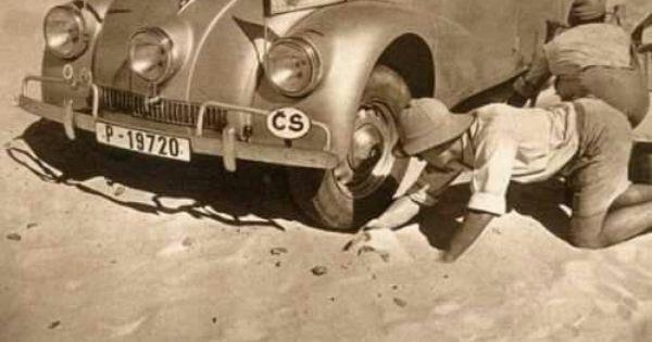 Miroslav Zikmund Jiri Hanzelka On Their Journey Through Africa And South America 1947 To 1950 On Tatra 87 Car Koprivnice South America Antique Cars