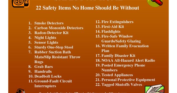 22 Safety Items No Home Should Be Without | Home Safety ...