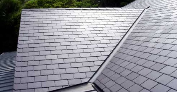 Metal Slate Roofing For A Cleaner Look Slate Roof Roofing Slate Roof Tiles