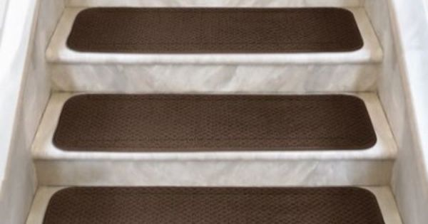 Amazon Com 12 Attachable Carpet Stair Treads Chocolate Brown 8 In X 30 In Several Other Sizes To Cho Carpet Stair Treads Carpet Stairs Stairway Carpet